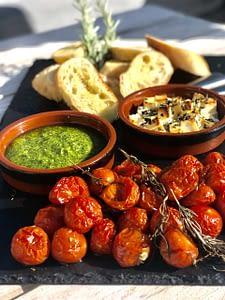 Langtidsbagte-cherry-tomater