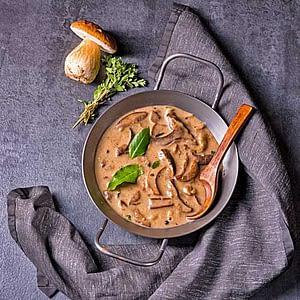 Champignon-Sauce