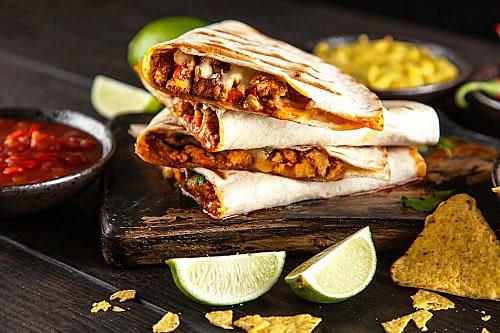 Quesadilla-Hakket-Oksekød