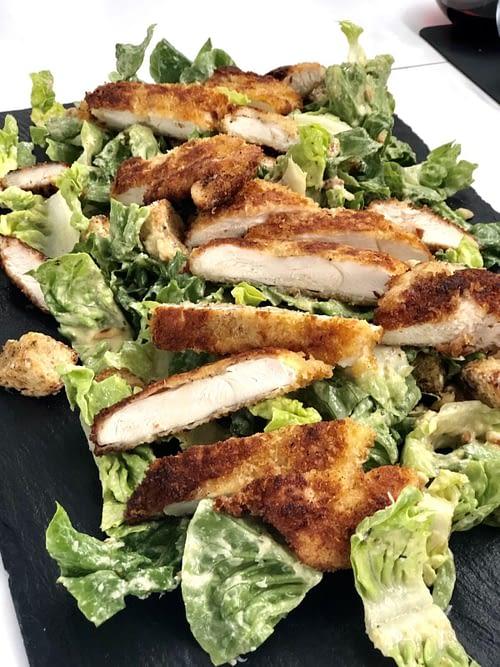 Cæsar salat med kylling