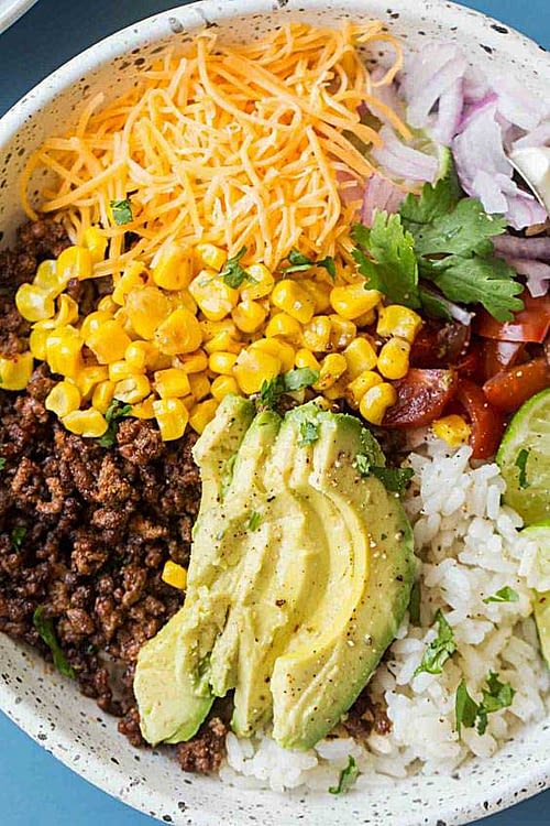 Tacoskål