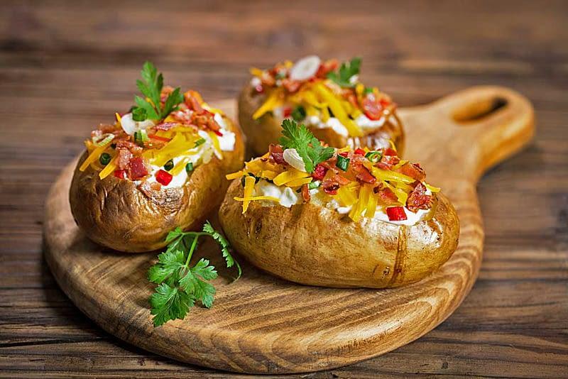 Bagte-Kartofler